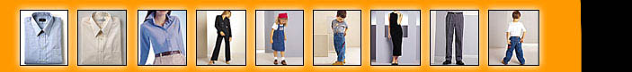 dress shirt pants jacket lingerie childrens clothes menswear ladieswear